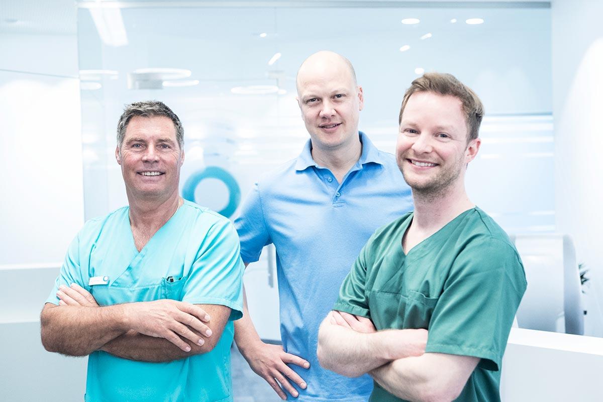 Ihr Team von der Zahnarztpraxis Au Haidhausen für professionelle Zahnreinigung