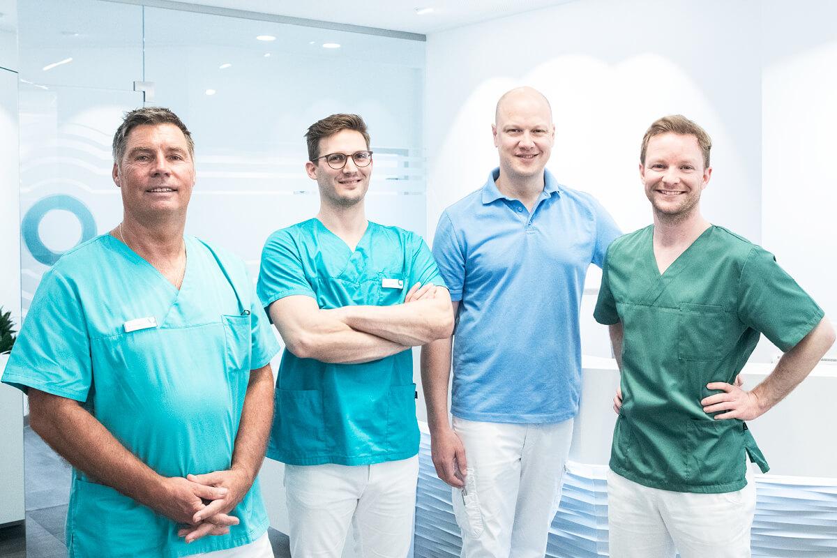 Das Praxis Team der Zahnärzte in Haidhausen München