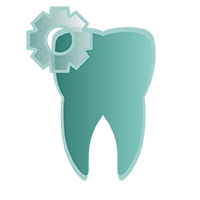 Icon für digitale Zahntechnik in der Zahnarztpraxis Au Haidhausen